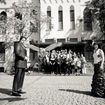 Huwelijk van Andy en Simone Clifton op 19 augustus 2011